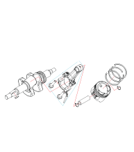 Коленвал-шатун-поршень LH2000i