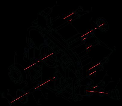 Крышка картера LH2000i