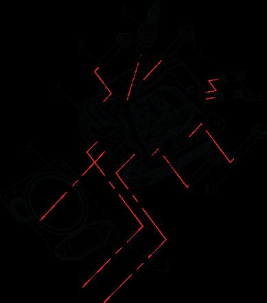 Головка цилиндра LH2500i