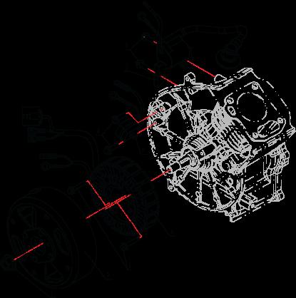 Электрическая система генератора LH2000i