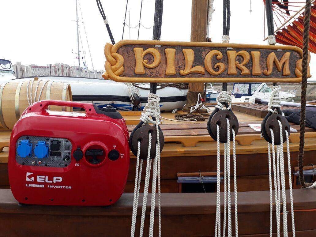 Генератор ELP обеспечит бесперебойную электроэнергию вкругосветном путешествии на ладье «Пилигрим»